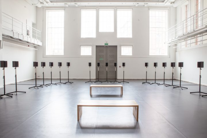 SOUND SYSTEMS<br>THE FORTY PART MOTET<br>JANET CARDIFF