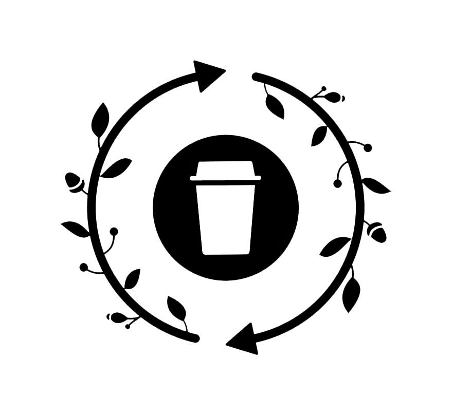 Logo: Zwłasnym kubkiem