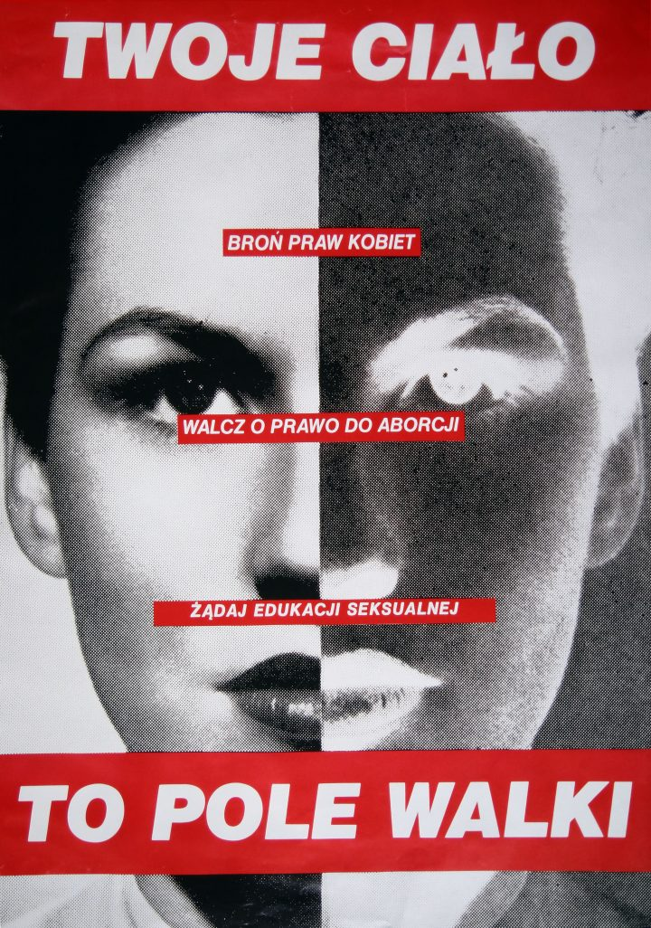 Barbara Kruger<br>Your Body is a Battleground